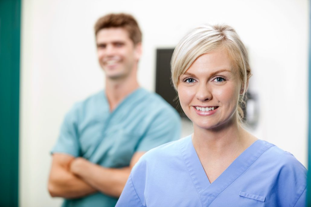 Vikarbyrå med ledige stillinger for sykepleiere, helsesekretærer m.m.